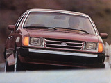 Photos of Ford Tempo 1984–87