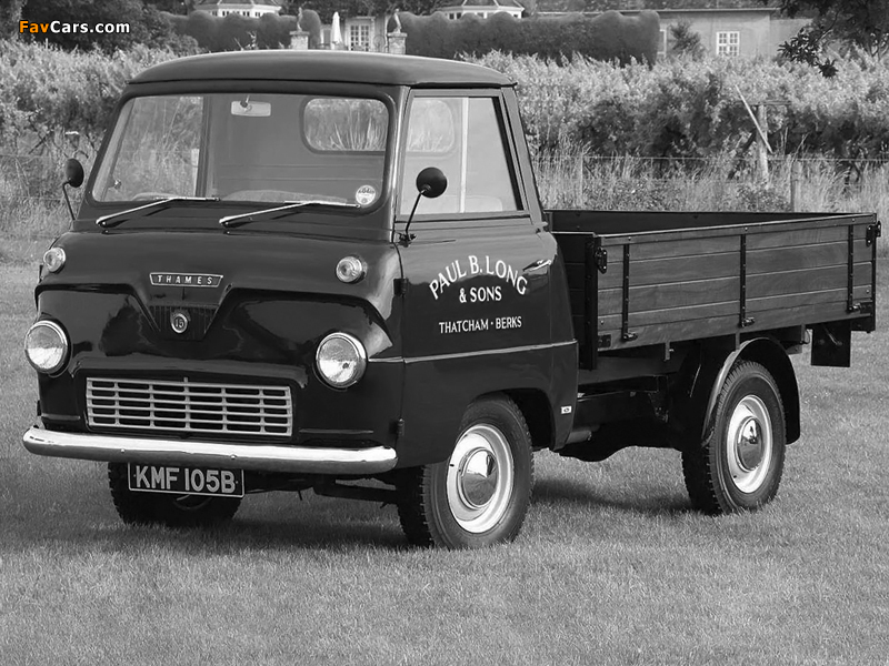Ford Thames 400E Pickup 1957–65 wallpapers (800 x 600)
