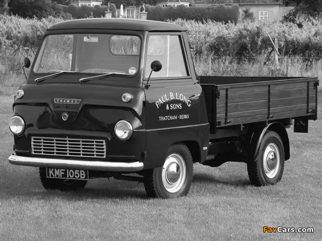 Ford Thames 400E Pickup 1957–65 wallpapers (640 x 480)