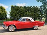 Ford Thunderbird 1957 photos