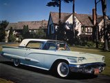 Ford Thunderbird 1958 photos