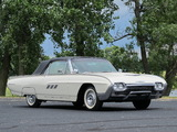 Ford Thunderbird 1963 wallpapers