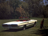 Ford Thunderbird Convertible (76A) 1966 pictures