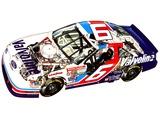 Photos of Ford Thunderbird NASCAR Race Car 2005