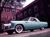 Pictures of Ford Thunderbird 1955