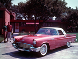 Pictures of Ford Thunderbird 1957