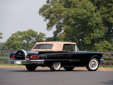 Pictures of Ford Thunderbird 1958