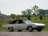 Pictures of Ford Thunderbird 1963