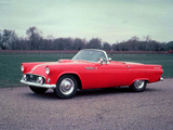 Ford Thunderbird 1955 wallpapers