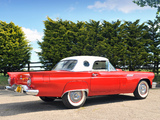 Ford Thunderbird 1957 wallpapers