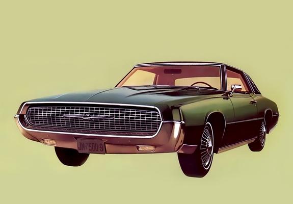 Ford Thunderbird Landau Coupe 1967 Wallpapers