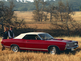 Ford Fairlane Torino GT Convertible 1969 pictures
