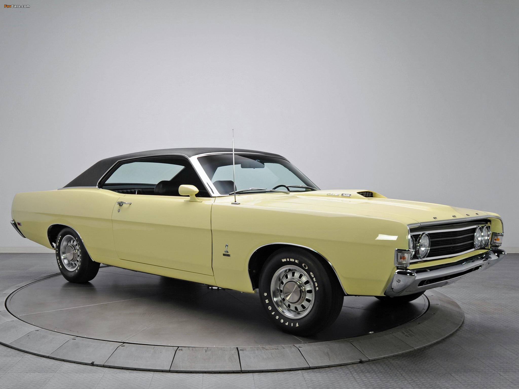 Ford Fairlane Torino Cobra 428 Cj 45 1969 Wallpapers 2048x1536 Muscle Cars 2048 X 1536
