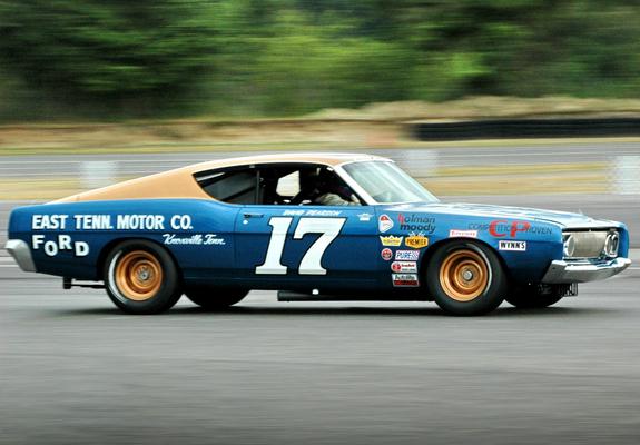 Ford Torino Nascar Race Car 1968 Wallpapers