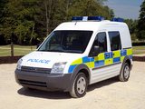 Ford Transit Connect Crew Van Police 2006–09 wallpapers
