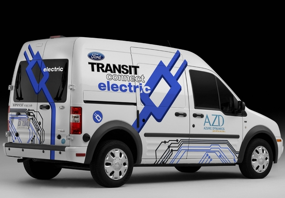 Azd Ford Transit Connect Electric 2011 Wallpapers