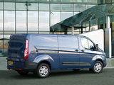 Ford Transit Custom LWB UK-spec 2012 pictures
