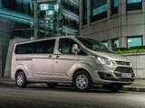 Ford Tourneo Custom LWB UK-spec 2012 wallpapers