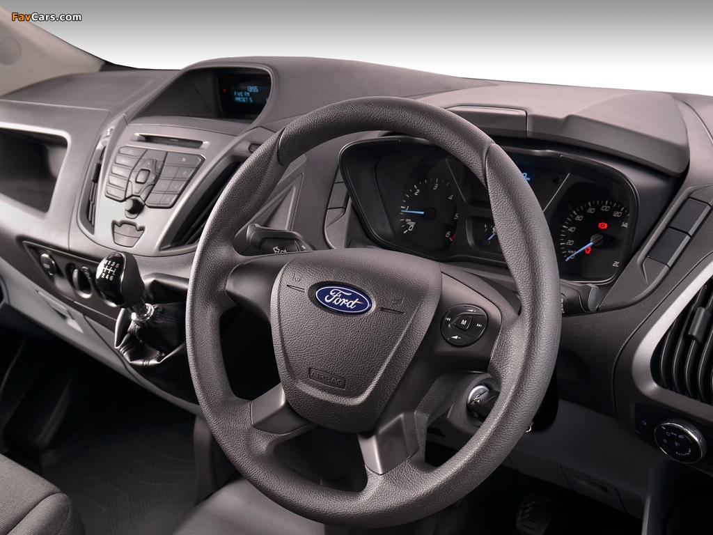 Ford Transit Custom LWB ZA-spec 2013 images (1024 x 768)