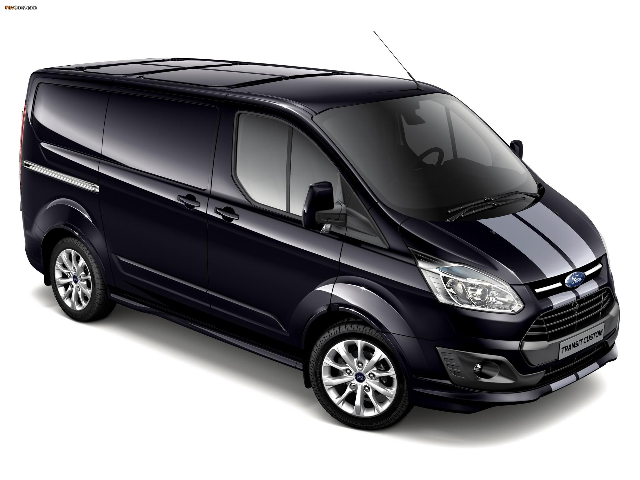 Images of Ford Transit Custom Sport Van 2013 (2048 x 1536)