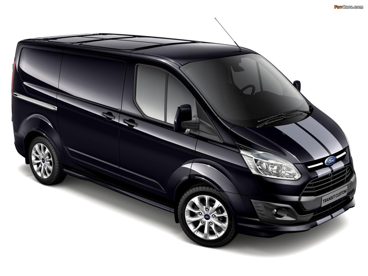Images of Ford Transit Custom Sport Van 2013 (1280 x 960)
