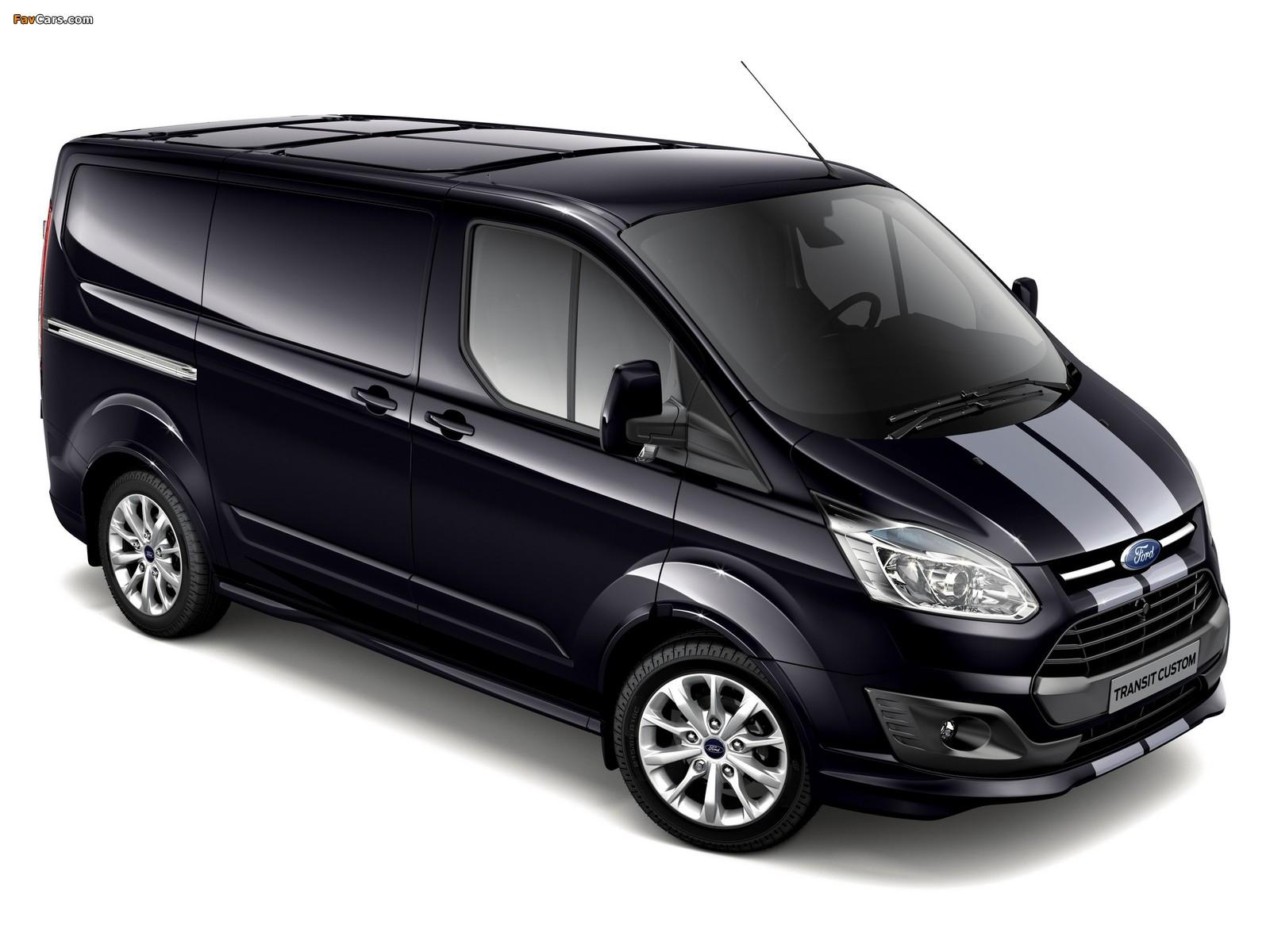 Images of Ford Transit Custom Sport Van 2013 (1600 x 1200)