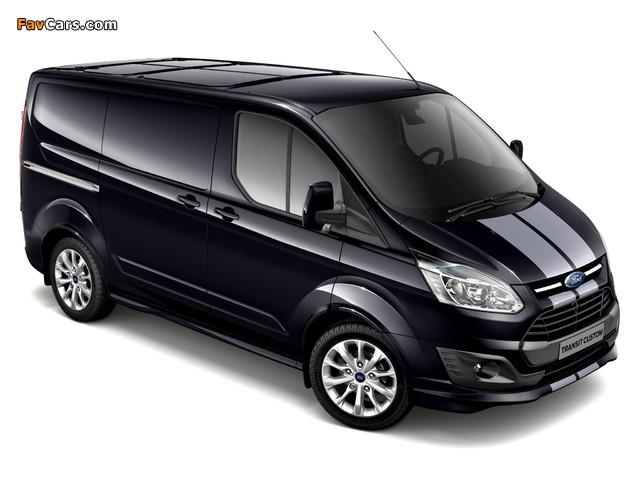 Images of Ford Transit Custom Sport Van 2013 (640 x 480)