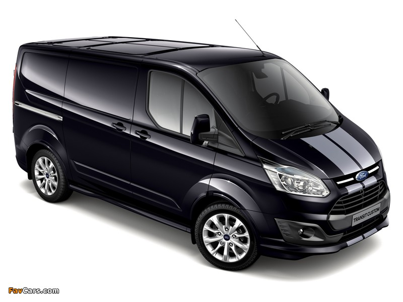 Images of Ford Transit Custom Sport Van 2013 (800 x 600)