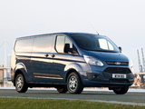 Photos of Ford Transit Custom LWB UK-spec 2012