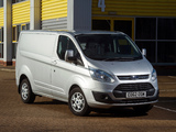 Pictures of Ford Transit Custom UK-spec 2012