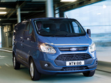 Ford Transit Custom LWB UK-spec 2012 wallpapers