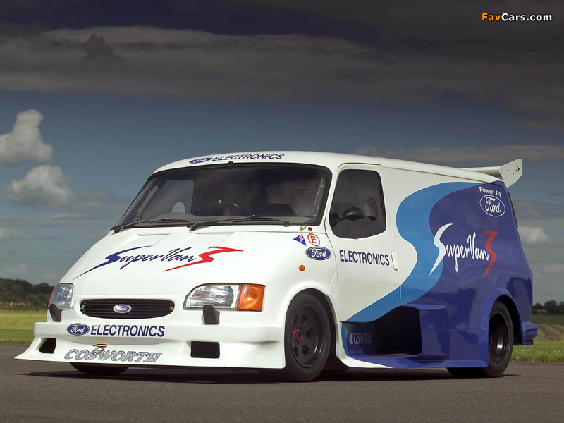Images of Ford Transit Supervan 3 2004 (800 x 600)
