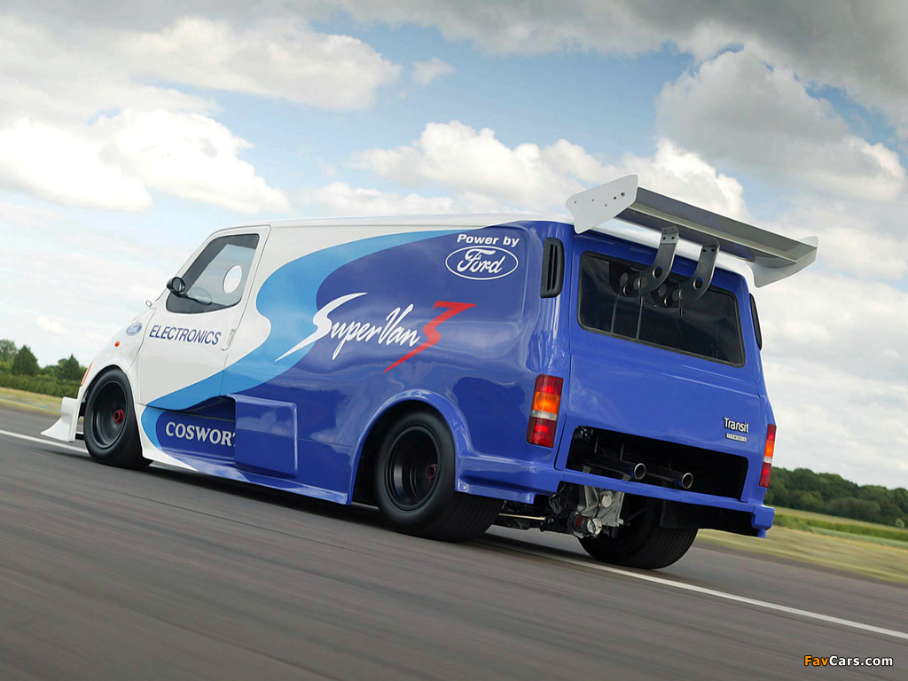 Ford Transit Supervan 3 2004 wallpapers (1024 x 768)