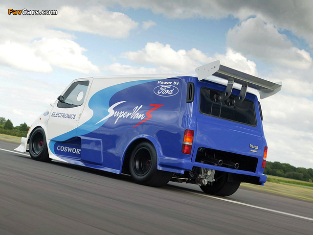 Ford Transit Supervan 3 2004 wallpapers (640 x 480)