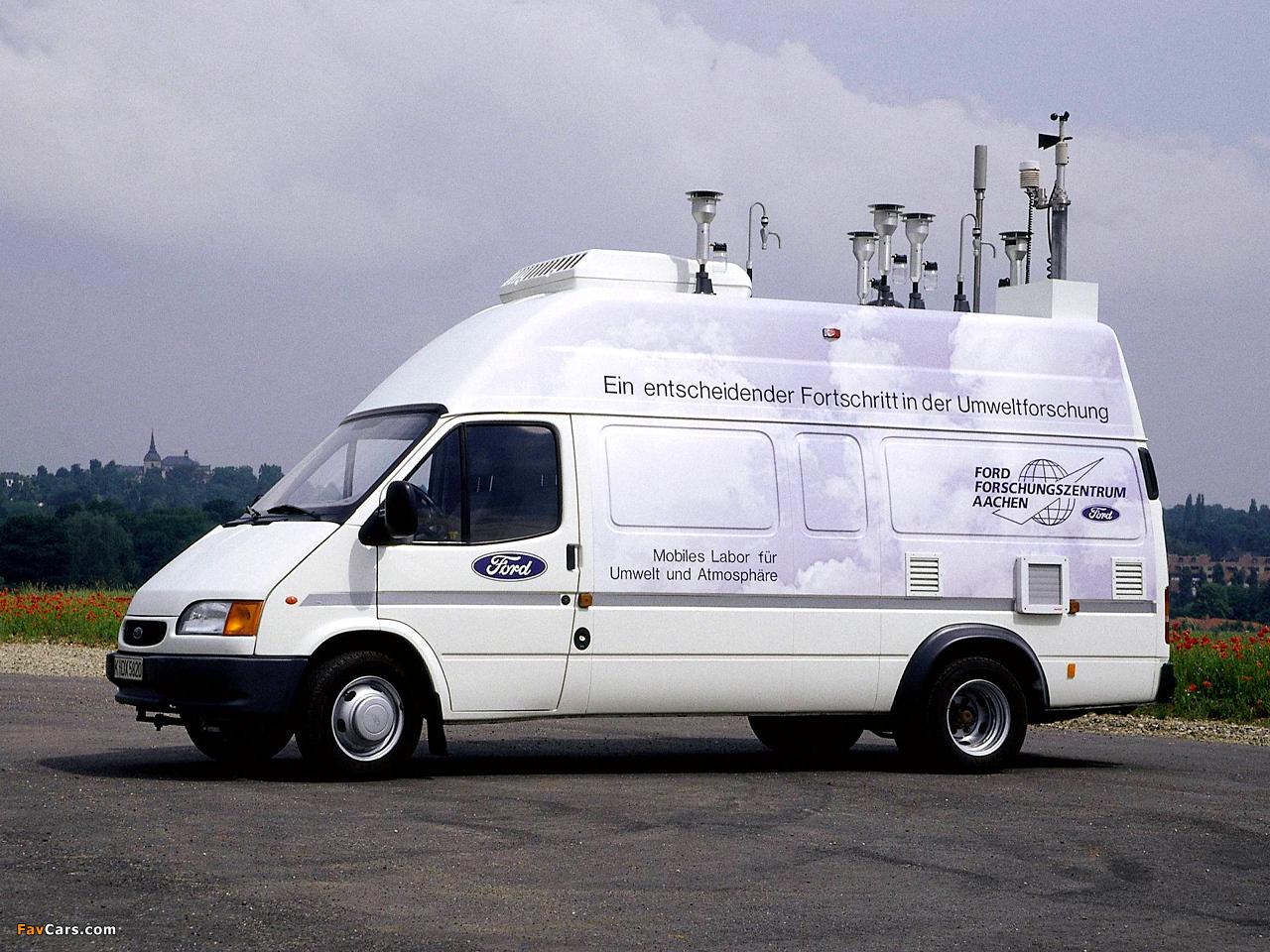 Технические характеристики Форд Транзит: фото, видео