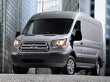 Ford Transit LWB Van US-spec 2013 pictures