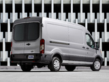 Ford Transit LWB Van US-spec 2013 wallpapers
