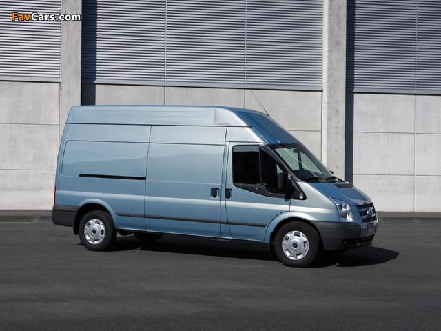 Photos of Ford Transit LWB Van 2011 (640 x 480)