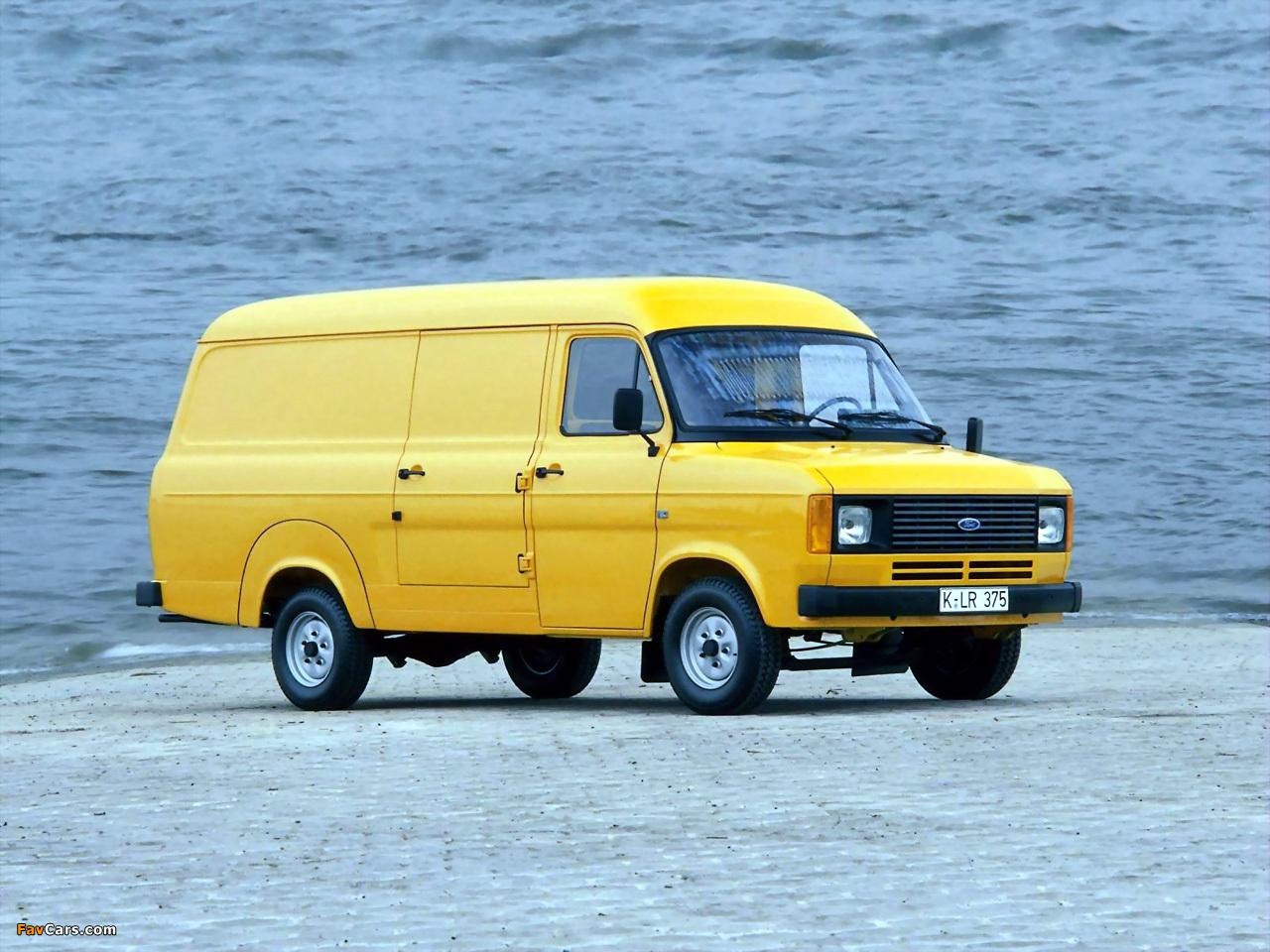 Ford Transit Van >> Ford Transit Van 1978–86 wallpapers (1280x960)