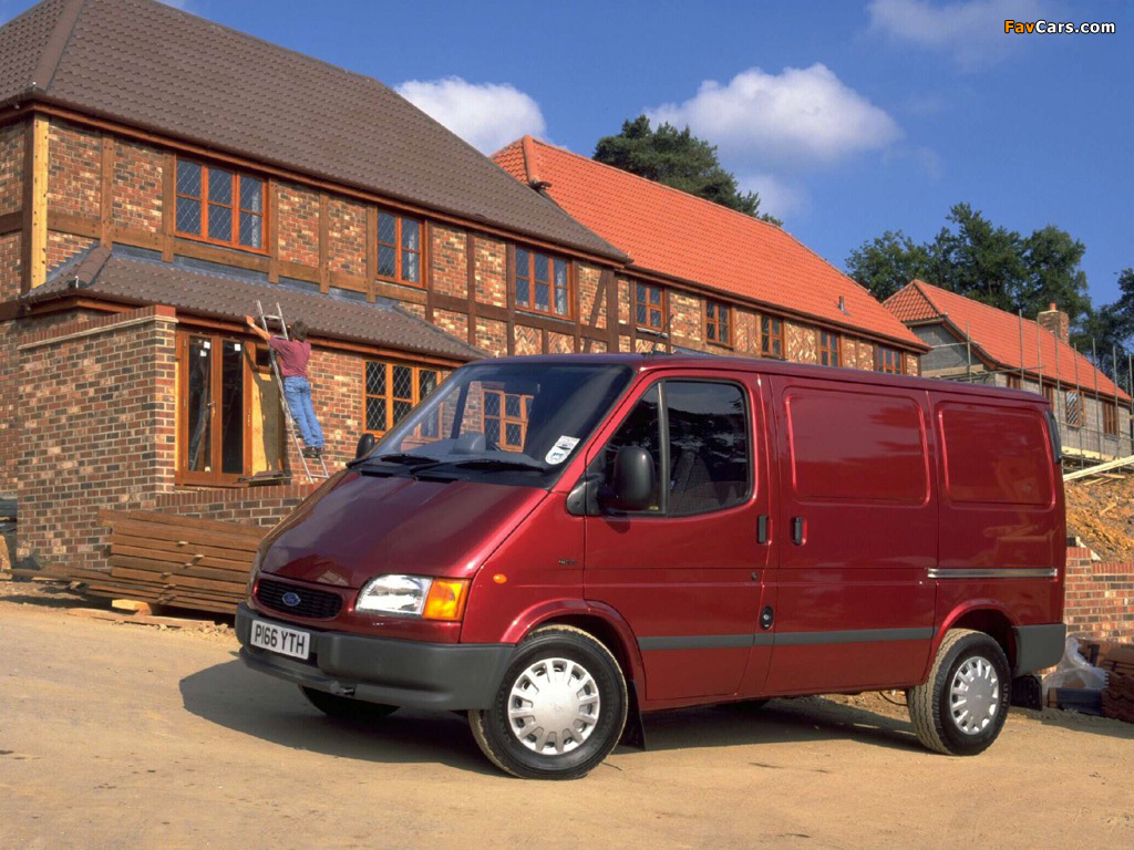 Ford Transit Van >> Ford Transit Van 1994–2000 wallpapers (1024x768)