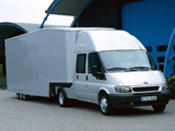 Ford Transit Double Cab Pickup 2000–06 wallpapers