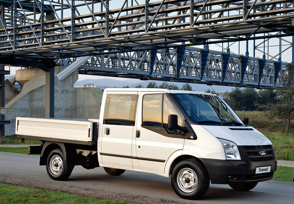 9738d0c1cc Ford Transit Double Cab Pickup 2006–11 wallpapers
