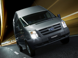 Ford Transit LWB Van 2006–11 wallpapers
