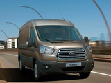 Ford Transit LWB Van 2013 wallpapers