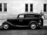 Ford V8 Sedan Delivery (40-850) 1933 wallpapers