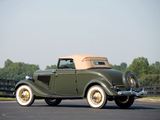 Ford V8 Deluxe Cabriolet (40-760) 1934 photos