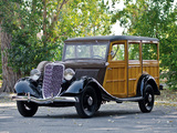 Ford V8 Station Wagon (40-860) 1934 photos