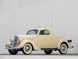 Ford V8 Deluxe 3-window Coupe (48) 1935 images