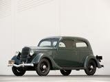 Ford V8 Standard Tudor Sedan (48-700) 1935 wallpapers