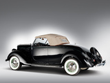 Ford V8 Deluxe Roadster (68-710) 1936 wallpapers